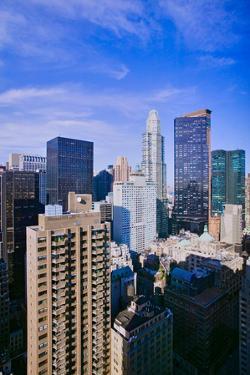 New York City skyline from 42nd floor, New York