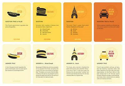 New York City Smarts Question & Answer Cards Game