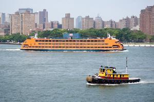 New York City Staten Island Ferry Photo Print Poster