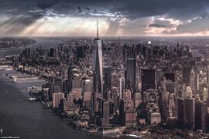 New York-City Under Storm