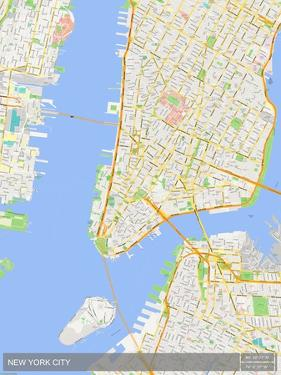 New York City, United States of America Map