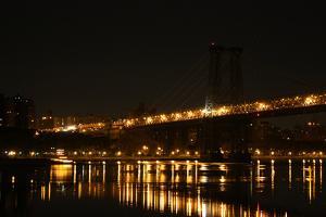 New York City Williamsburg Bridge Photo Print Poster