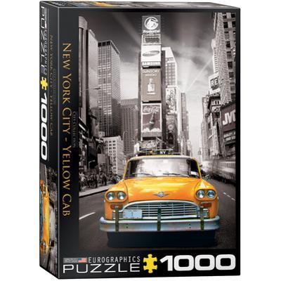 New York City Yellow Cab 1000 Piece Puzzle
