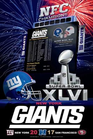 New York Giants 2012 Conference Champ