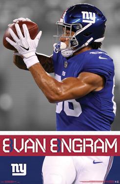NEW YORK GIANTS - E ENGRAM 18