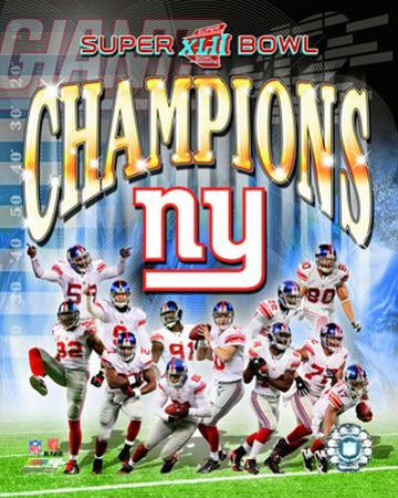 New York Giants - Super Bowl XLII
