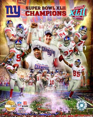 New York Giants- Super Bowl XLII