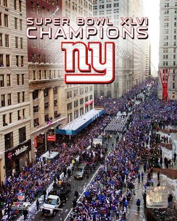 New York Giants Super Bowl XLVI Champions Parade