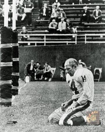 New York Giants - Y.A. Tittle Photo