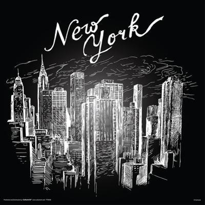 New York In Chalk