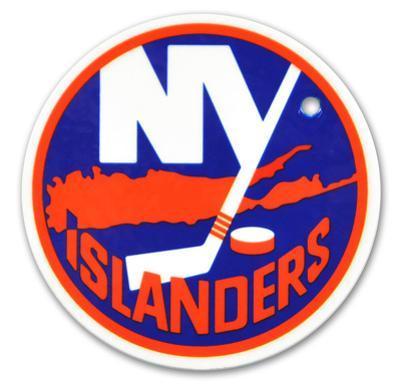 New York Islanders Steel Magnet