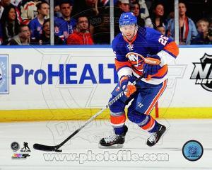 New York Islanders Thomas Vanek 2013-14 Action