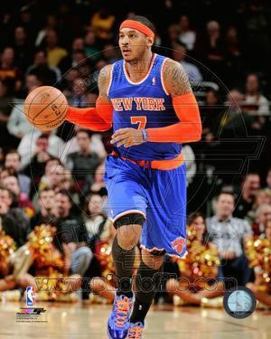 New York Knicks Carmelo Anthony 2013-14 Action