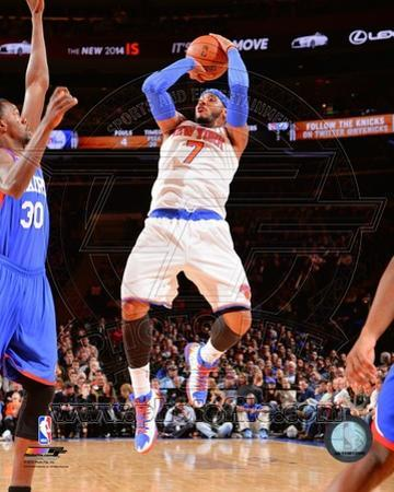New York Knicks Carmelo Anthony 2013-14 Action
