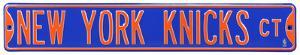 New York Knicks Ct Steel Sign