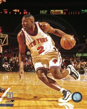 New York Knicks - Larry Johnson Photo