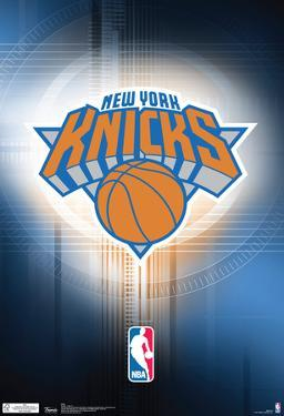 New York Knicks Logo Nba Sports Poster