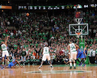 New York Knicks v Boston Celtics - Game One, Boston, MA - April 17: Ray Allen