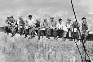 New York-Lunch Atop Skyscraper