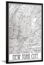 Map Of New York Poster.Affordable Maps Of New York Posters For Sale At Allposters Com