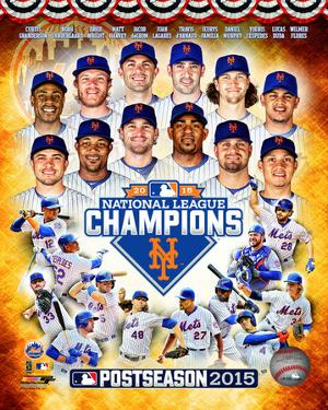 New York Mets 2015 National League Champions Composite