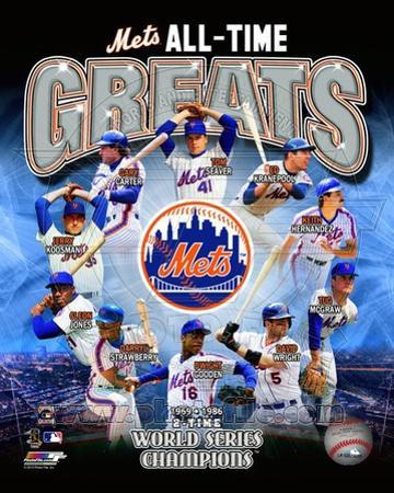 New York Mets All Time Greats Composite