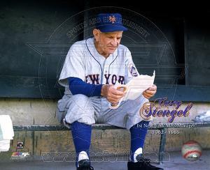 New York Mets - Casey Stengel Photo
