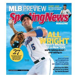 New York Mets' David Wright - March 30, 2009