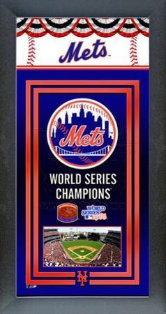 New York Mets Framed Championship Banner