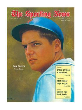 New York Mets P Tom Seaver - October 11, 1969