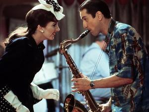 NEW-YORK NEW-YORK, 1980 directed by MARTIN SCORSESE Liza Minnelli and Robert by Niro (photo)