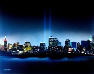New York, New York - Towers of Light - September 11th Tribute