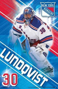 New York Rangers- H Lundqvist 17