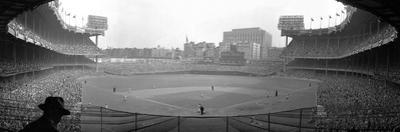 New York's Yankee Stadium as the Yankees Hosted the Brooklyn Dodgers
