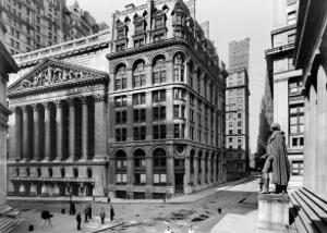 New York Stock Exchange, c.1921