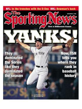 New York Yankees 3B Scott Brosius - World Champions - November 2, 1998