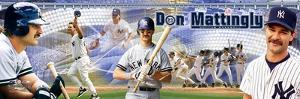 New York Yankees - Don Mattingly Panoramic Photo
