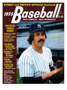 New York Yankees P Catfish Hunter - 1975 Street and Smith's