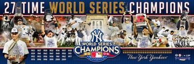 New York Yankees Panoramic Photo