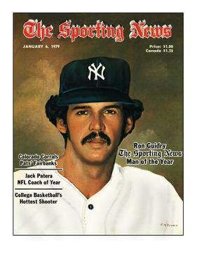 New York Yankees Pitcher Ron Guidry - January 6, 1979