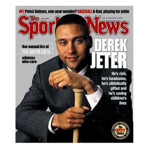 New York Yankees SS Derek Jeter - July 22, 2002