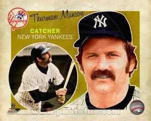 New York Yankees - Thurman Munson Photo