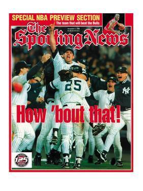 New York Yankees - World Series Champions - November 4, 1996