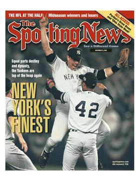 New York Yankees - World Series Champions - November 6, 2000