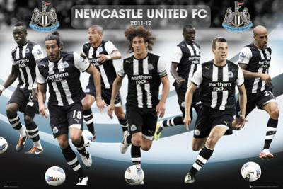 Newcastle-Players 2011-2012
