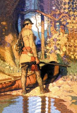 Hawkeye by Newell Convers Wyeth