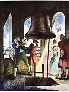 Liberty Bell, 1776 by Newell Convers Wyeth