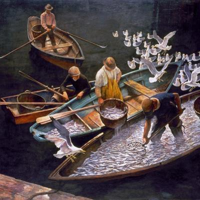 N.C. Wyeth: Fishermen