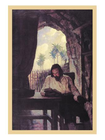 Reading the Bible by Newell Convers Wyeth