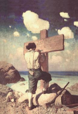 The Great Cross by Newell Convers Wyeth